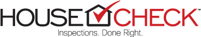 HouseCheck | Inspections. Done Right. Logo