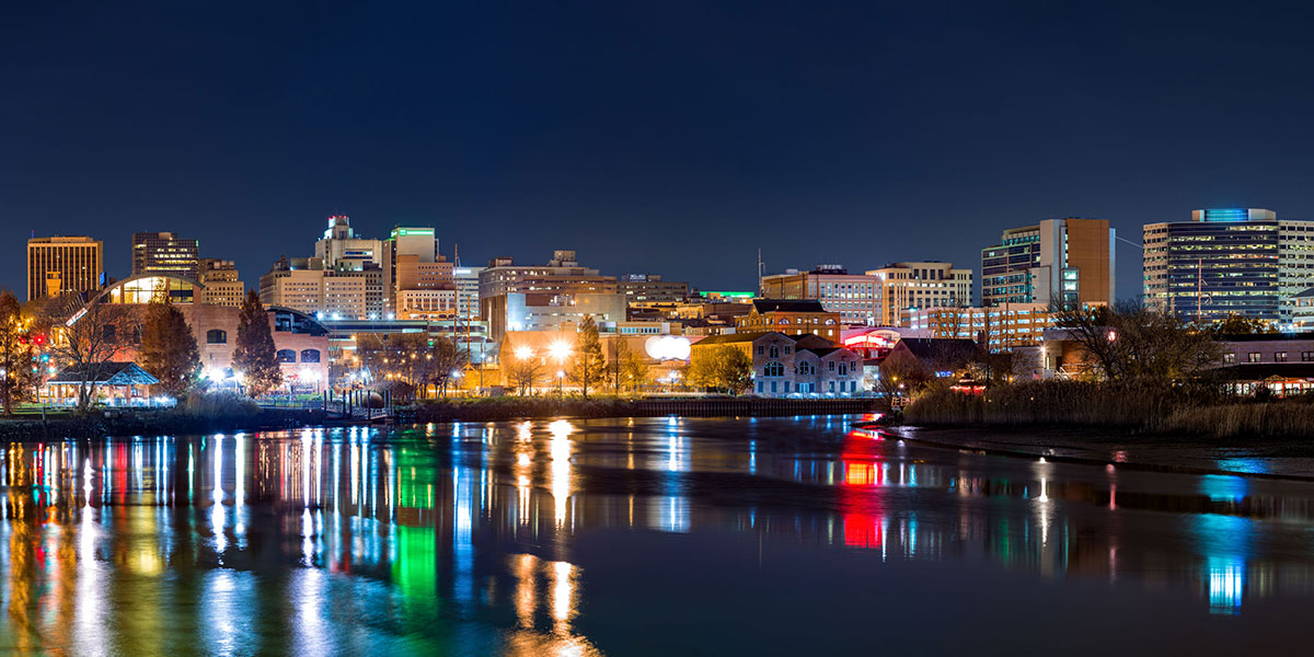 wilmington skyline